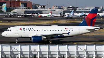 N351NB - Airbus A319-114 - Delta Air Lines