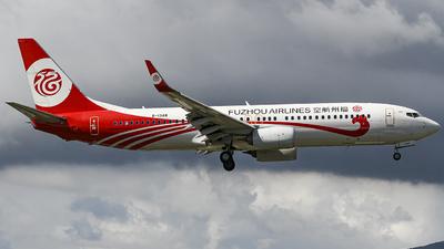 B-1348 - Boeing 737-8AL - Fuzhou Airlines