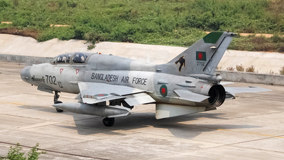 2702 - Chengdu FT-7BGI - Bangladesh - Air Force