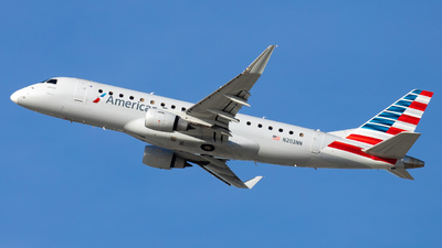 A picture of N203NN - Embraer E175LR - American Airlines - © Eric Esots