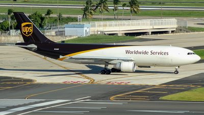 N163UP - Airbus A300F4-622R - United Parcel Service (UPS)