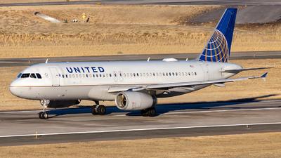 N497UA - Airbus A320-232 - United Airlines