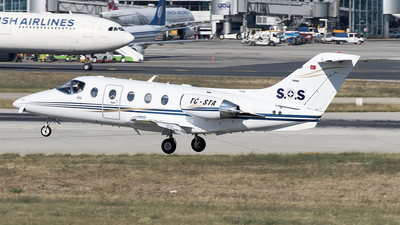 TC-STA - Beechcraft 400A Beechjet - Sertur Air