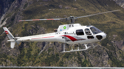 ZK-IFX - Eurocopter AS 350BA Ecureuil - Southern Lakes Helicopters