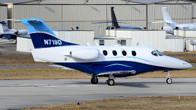 N719D - Raytheon 390 Premier I - Private