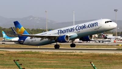 A picture of GTCDB - Airbus A321211 - [5603] - © Javier Rodriguez - Amics de Son Sant Joan