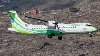 A picture of ECMYT - ATR 72600 - Binter Canarias - © Photography  Jc  la Palma