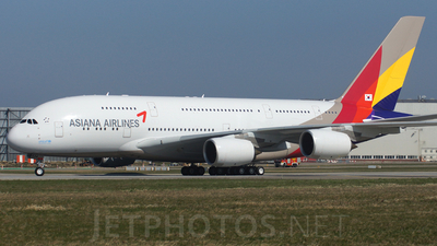F-WWAF - Airbus A380-841 - Asiana Airlines
