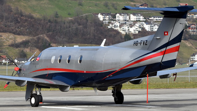 HB-FVZ - Pilatus PC-12/45 - Fly 7 Executive Aviation