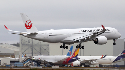 F-WZNP - Airbus A350-941 - Japan Airlines (JAL)