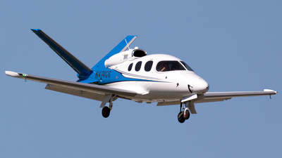 A picture of N474CG - Cirrus SF50 Vision - [0045] - © Markus Buttinger