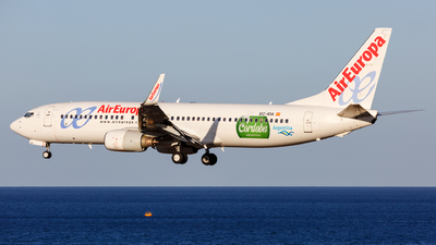 EC-IDA - Boeing 737-86Q - Air Europa