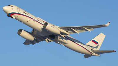 A picture of RA64528 - Tupolev Tu214SR - Rossiya  Special Flight Squadron - © SN7756