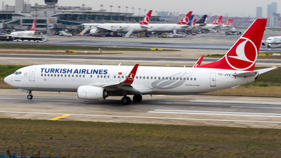 TC-JVV - Boeing 737-8F2 - Turkish Airlines