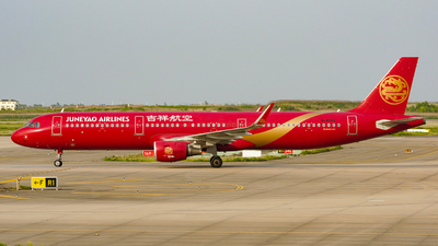 B-8068 - Airbus A321-211 - Juneyao Airlines