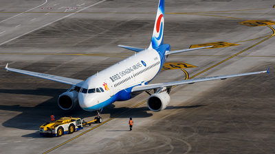 A picture of B6183 - Airbus A319115 - Chongqing Airlines - © Mr.Huang