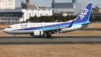 A picture of JA06AN - Boeing 737781 - All Nippon Airways - © Tokubee