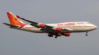VT-EVB - Boeing 747-437 - Air India