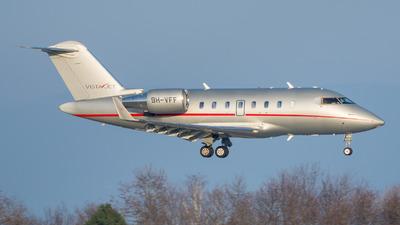 9H-VFF - Bombardier CL-600-2B16 Challenger 604 - VistaJet