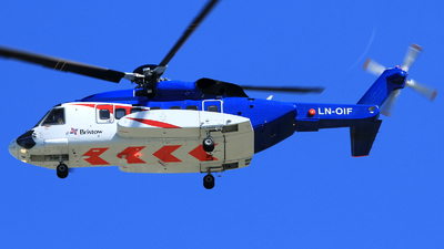 LN-OIF - Sikorsky S-92A Helibus - Bristow Norway