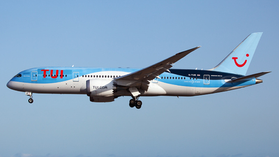 A picture of GTUIE - Boeing 7878 Dreamliner - TUI fly - © Florencio Martin Melian