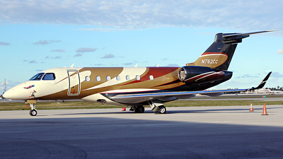 N762CC - Embraer EMB-550 Legacy 500 - Private