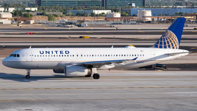 A picture of N401UA - Airbus A320232 - United Airlines - © PHXA332
