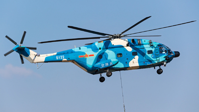 6122 - Changhe Z-8KA - China - Air Force