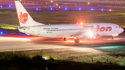 HS-LUU - Boeing 737-8GP - Thai Lion Air