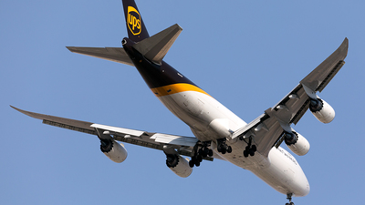 N614UP - Boeing 747-84AF - United Parcel Service (UPS)