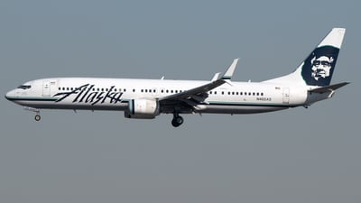 N402AS - Boeing 737-990ER - Alaska Airlines