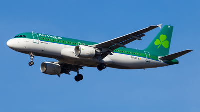 A picture of EIEDP - Airbus A320214 - Aer Lingus - © Simi