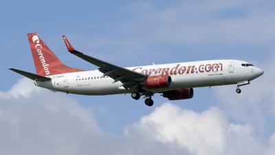 A picture of TCTJP - Boeing 7378BK - Corendon Airlines - © RAFAL KUKOWSKI