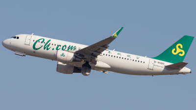 A picture of B8580 - Airbus A320214 - Spring Airlines - © H.C.