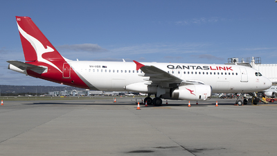 A picture of VHVQS - Airbus A320232 - Qantas - © Brenden