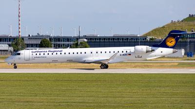 A picture of DACKI - Mitsubishi CRJ900LR - Lufthansa - © Markus Schwab