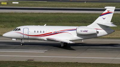 TC-GNC - Dassault Falcon 2000EX - Private