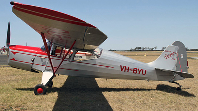 VH-BYU - Auster 5 - Private