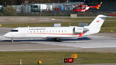4L-GAA - Bombardier CL-600-2B19 Challenger 850 - Georgia - Government