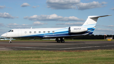N607CV - Gulfstream G550 - Private