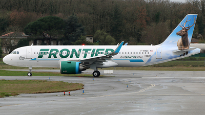 F-WWDC - Airbus A320-251N - Frontier Airlines