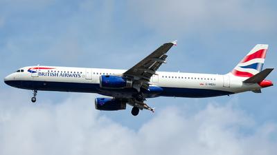 G-MEDU - Airbus A321-231 - British Airways