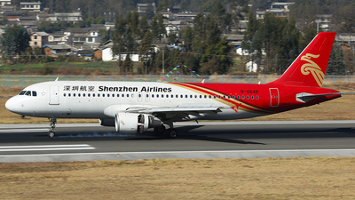 B-6648 - Airbus A320-214 - Shenzhen Airlines
