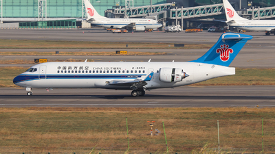 A picture of B605X - Comac ARJ21700 Xiangfeng - China Southern Airlines - © BillyLIAO