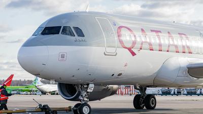 A7-AHG - Airbus A320-232 - Qatar Airways