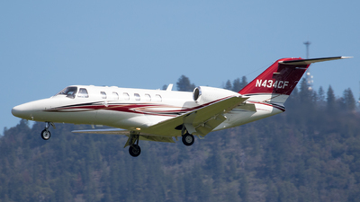 N434CF - Cessna 525A CitationJet 2 Plus - Private