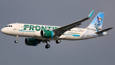F-WWDX - Airbus A320-251N - Frontier Airlines
