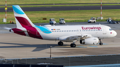 A picture of DAGWO - Airbus A319132 - Eurowings - © Marvin Knitl