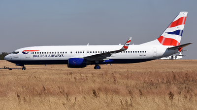 ZS-ZWX - Boeing 737-82R - British Airways (Comair)