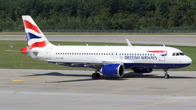 G-TTNB - Airbus A320-251N - British Airways